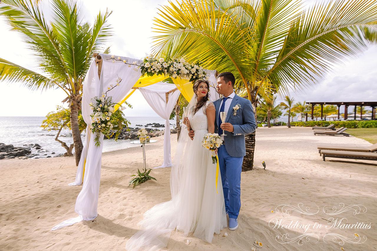 Фото свадьбы на маврикии
